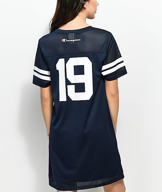 Champion Navy Mesh Jersey Dress