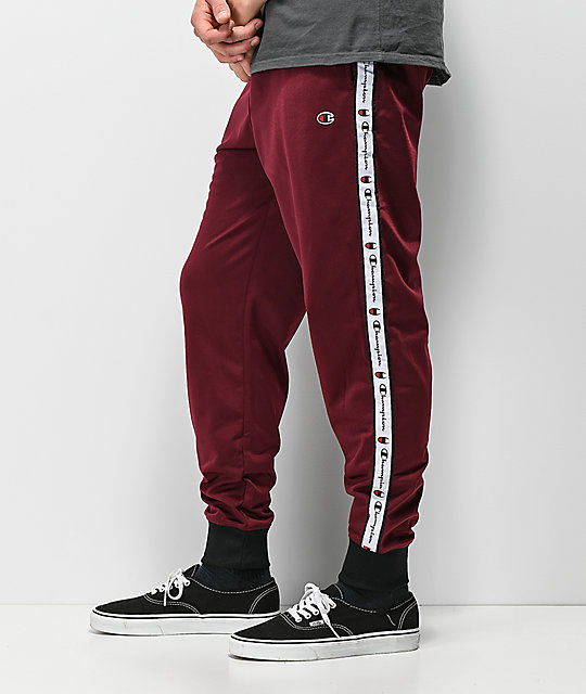Champion P3378 Mulled Berry Track Pants