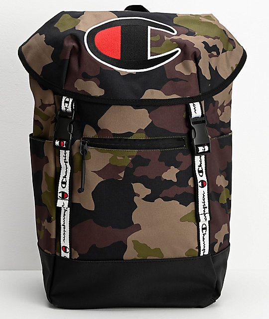 Champion Prime Camo Top Load Backpack