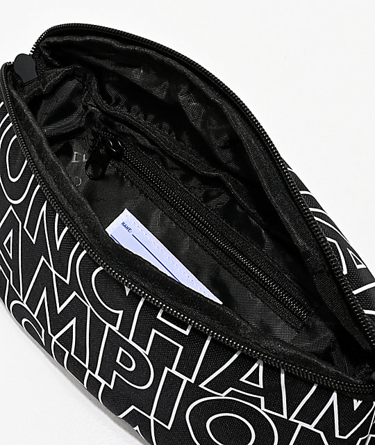 Champion Prime Print Black & White Fanny Pack