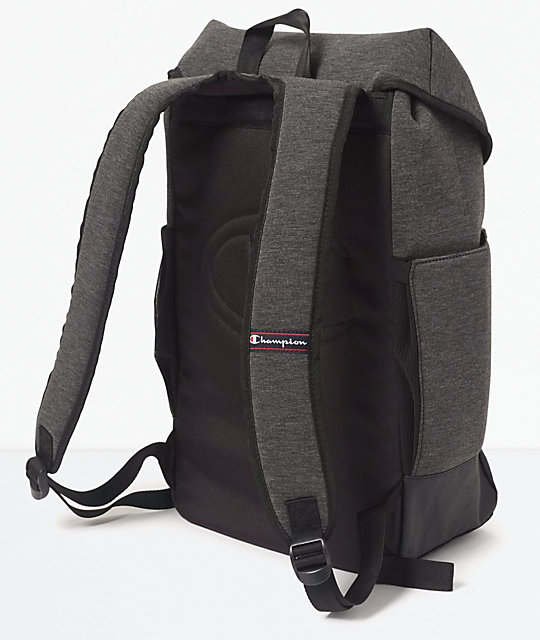 45d5082532 ... Champion Prime Top Load Grey Backpack ...
