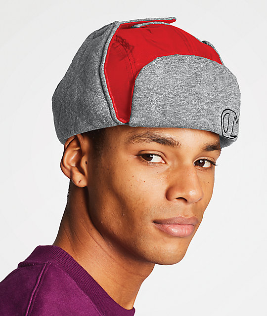 Champion Puffer Red Hunters Hat