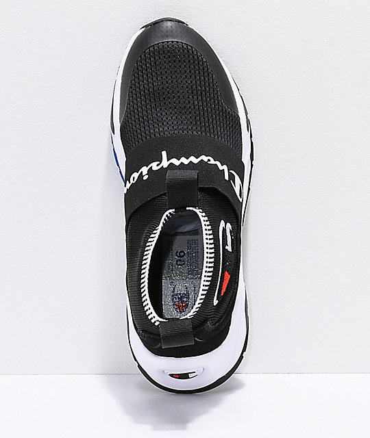f76b020c5bee5 ... Champion Rally Pro Black   White Shoes ...