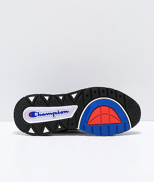 92b915ec06e ... Champion Rally Pro Black   White Shoes