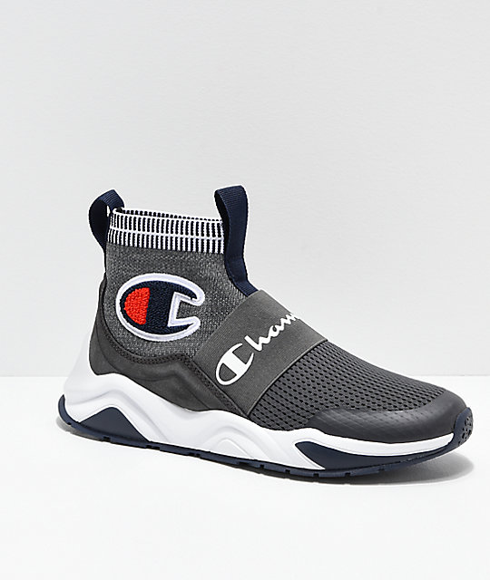 83e03929135 Champion Rally Pro Grey   White Shoes