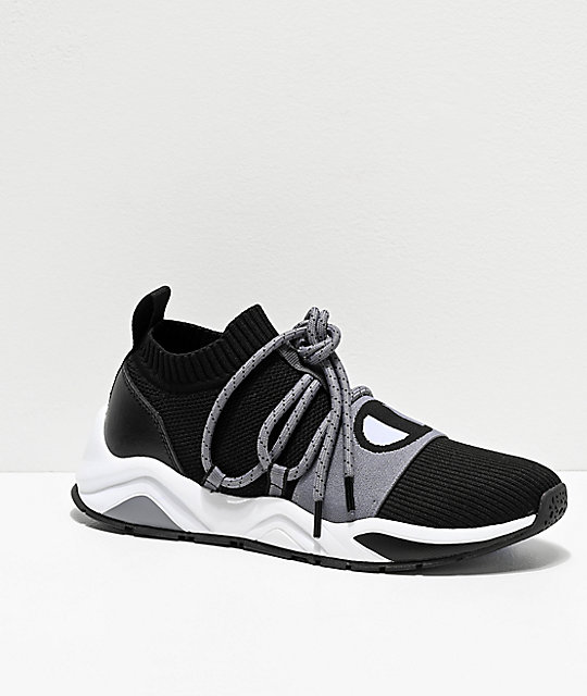 Champion Rally Pro Hype Lo Stealth zapatos negros y grises