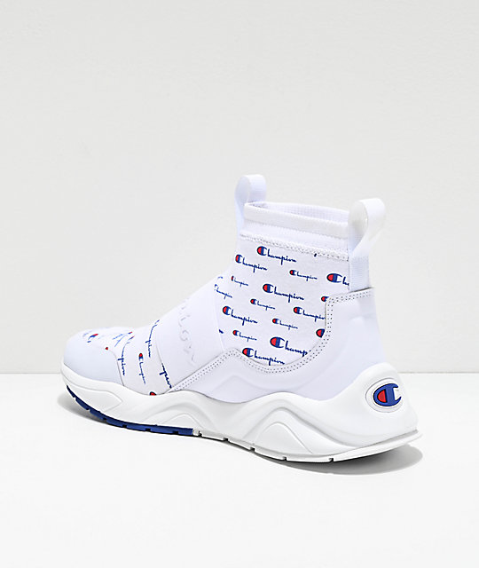 Champion Rally Pro Script zapatos blancos