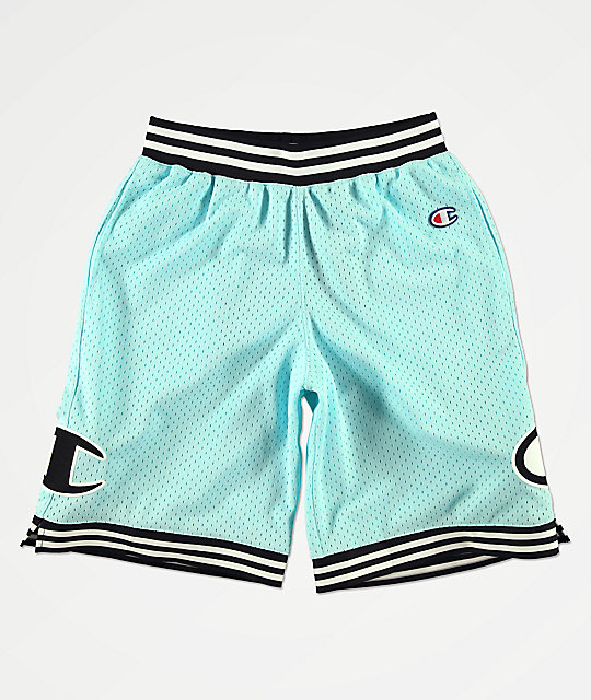 really comfortable good selling well known Champion Rec Mint Green Basketball Shorts
