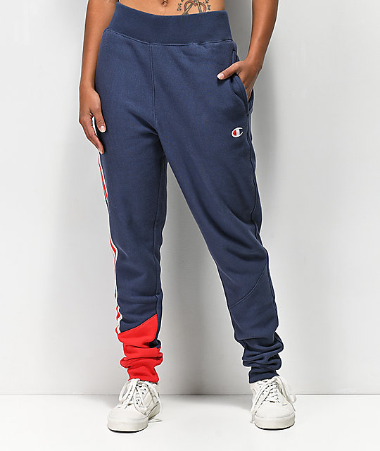 Champion Reverse Weave Colorblock Jogger Sweatpants