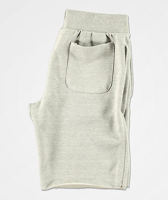 Champion Reverse Weave Cut-Off Grey Sweat Shorts