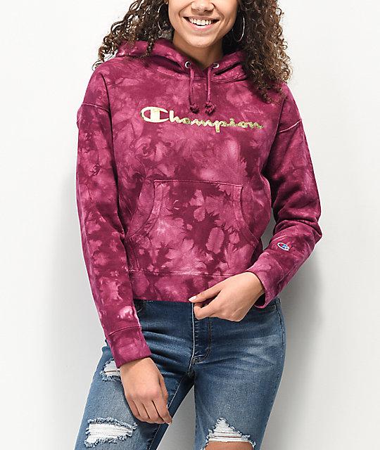 champion tie dye hoodie