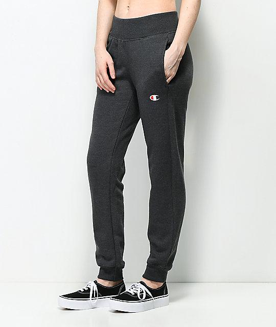 Champion Reverse Weave Heather Grey Jogger Pants