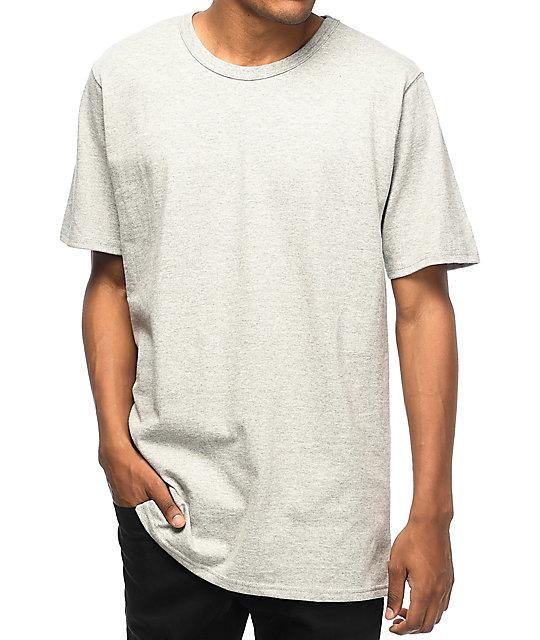 6dab662e Champion Reverse Weave Heather Grey T-Shirt | Zumiez