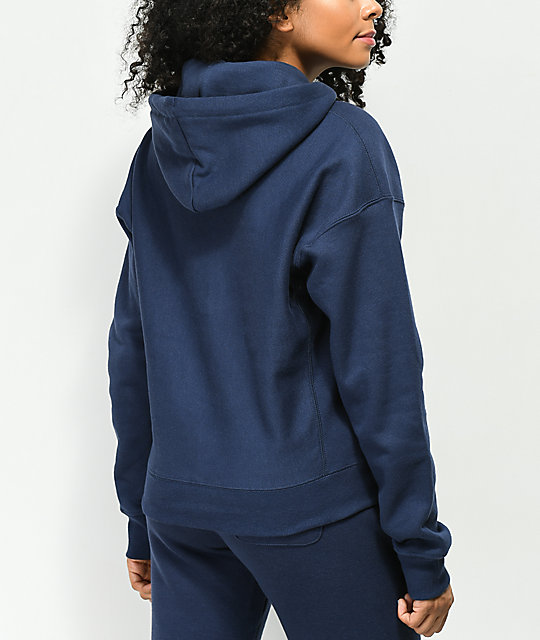f79a12645522 ... Champion Reverse Weave Imperial Indigo Hoodie