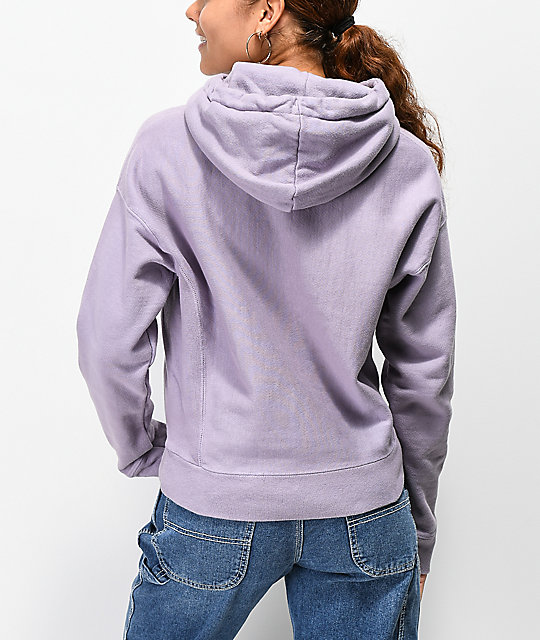 Champion Reverse Weave Lilac Dyed Hoodie