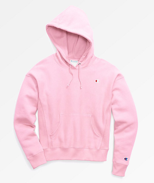 db0a6e6ef Champion Reverse Weave Pink Candy Pullover Hoodie | Zumiez.ca