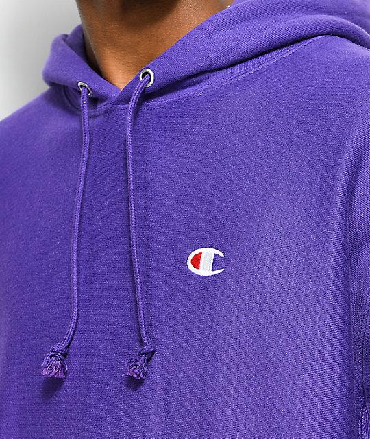 ... Champion Reverse Weave Purple Hoodie 2a55a1b48