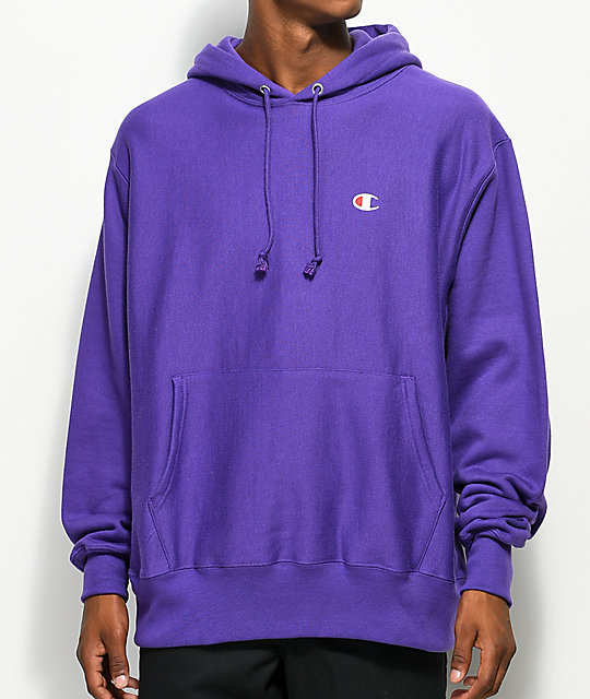 light purple champion sweatshirt