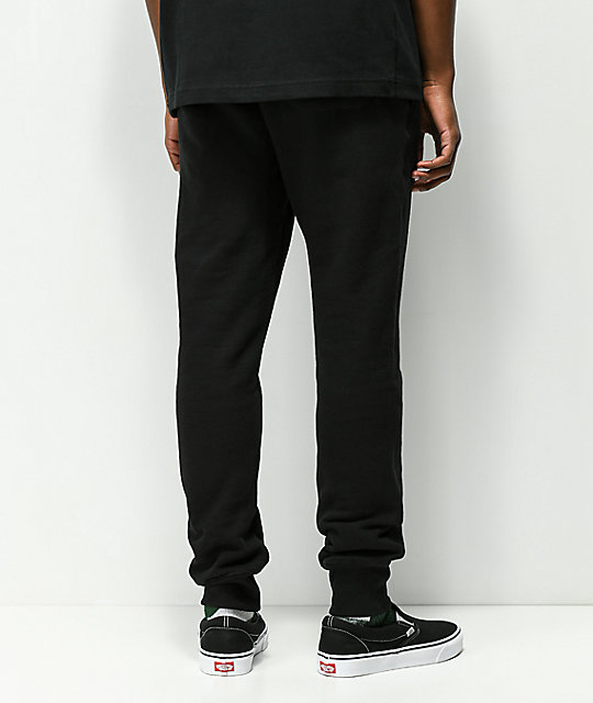 Champion Reverse Weave joggers negros
