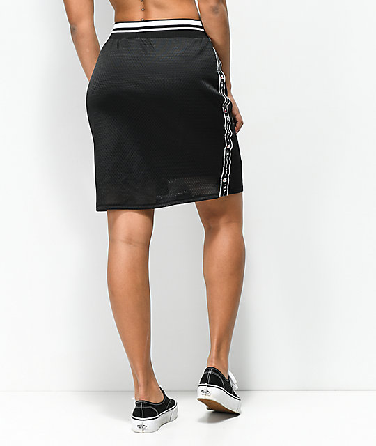 Champion Reversible Black & White Track Skirt