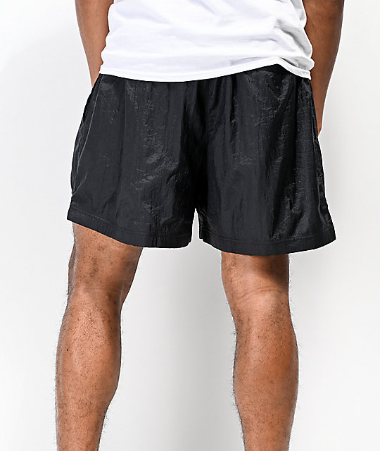 Champion Script shorts de nylon negro