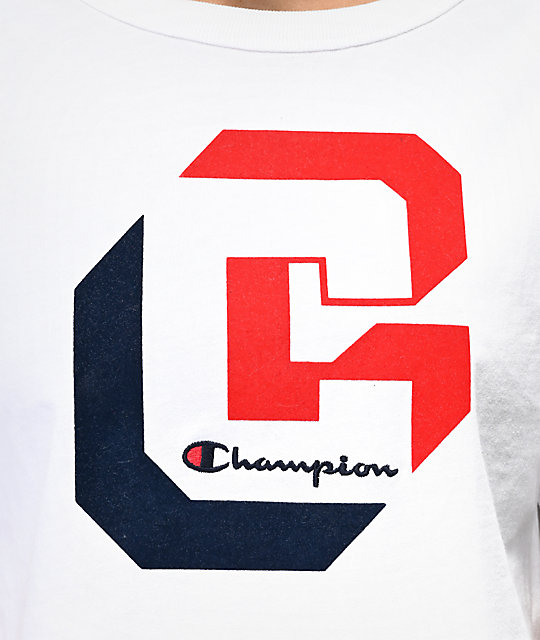 Champion Shadow C camiseta corta blanca
