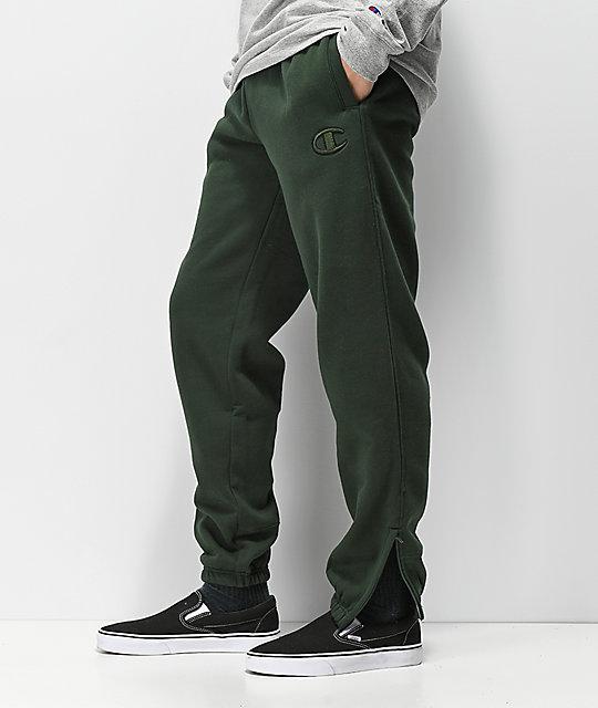 e59d83af3f3d ... Champion Super Fleece 2.0 Spruce Green Sweatpants ...
