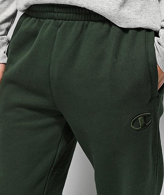409713611416 ... Champion Super Fleece 2.0 Spruce Green Sweatpants ...