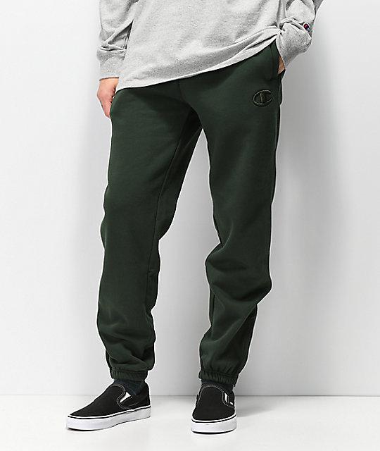 730c9d68a7f7 Champion Super Fleece 2.0 Spruce Green Sweatpants
