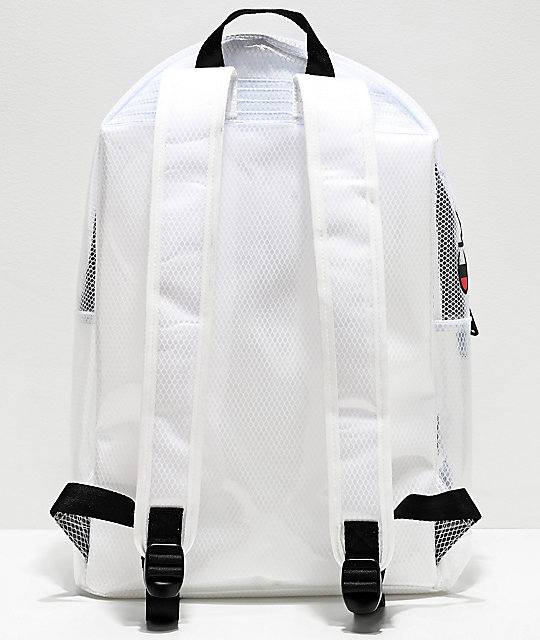 Champion Supercize 2.0 Clear White Backpack