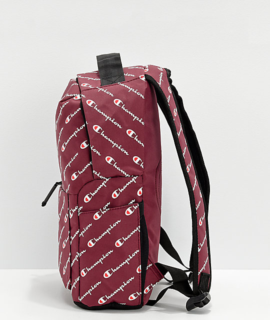 ... Champion Supercize Burgundy Mini Backpack ... 3b2d1e1475160