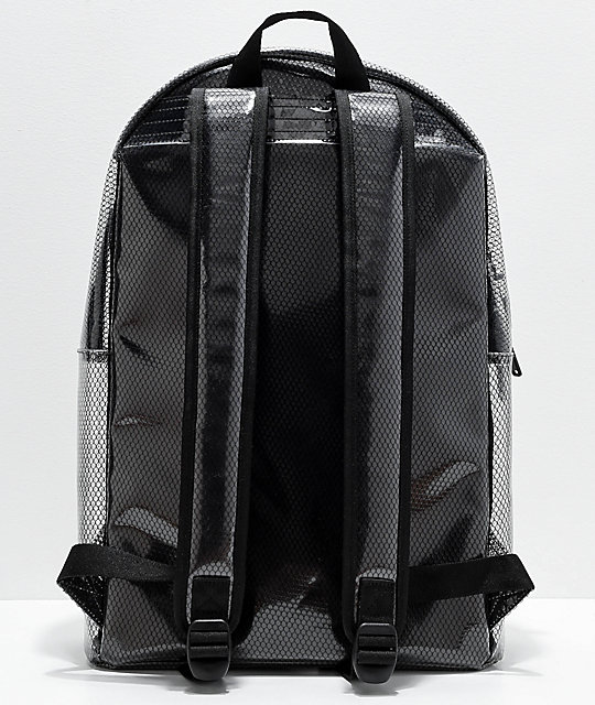 Champion Supercize Clear & Black Backpack