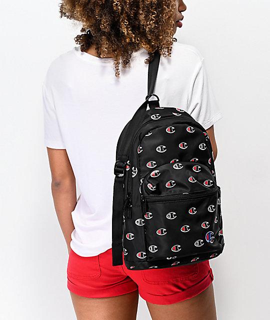 917d1ff675f9 ... Champion Supercize Crossover Black Mini Backpack ...