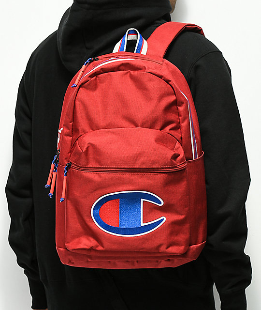 Champion Supercize Red Backpack  Champion Supercize Red Backpack ... 112393284b4ba
