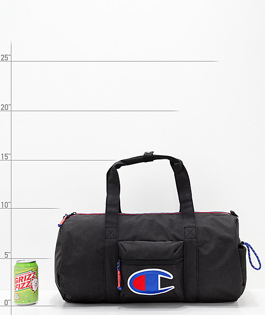 1ef66ed18e99 ... Champion Supersize 32L Black Duffle Bag