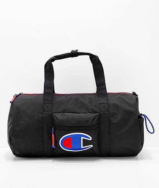 29fddb258f86 Champion Supersize 32L Black Duffle Bag