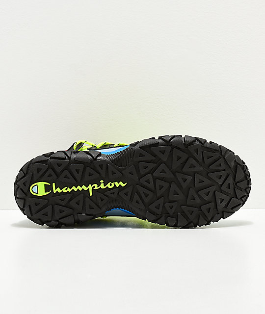 Champion Tank Black & Multicolor Shoes