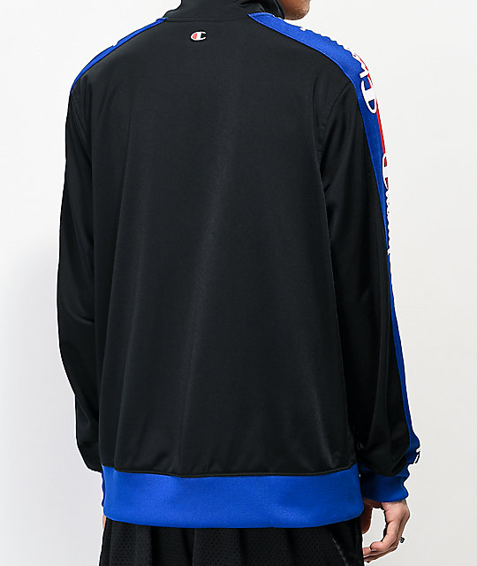Champion Tricot Black Track Jacket