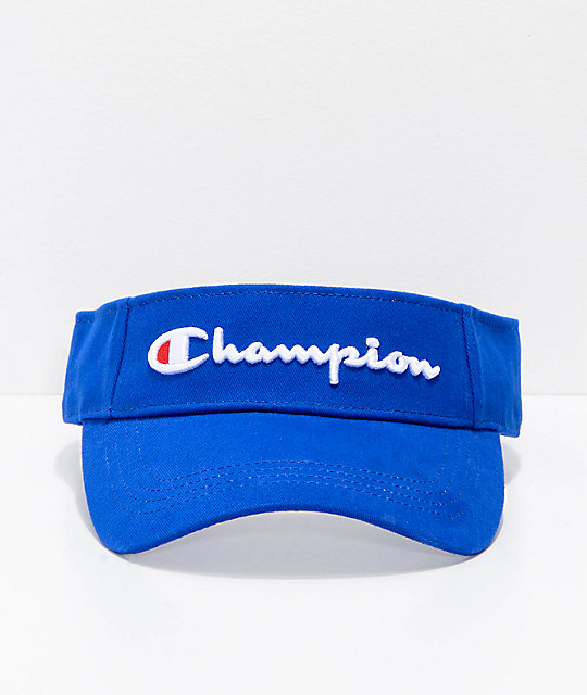Champion Twill & Mesh Surf Blue Visor