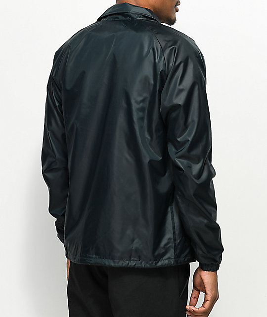 cd1e572095d Champion USA Black Coaches Jacket  Champion USA Black Coaches Jacket ...