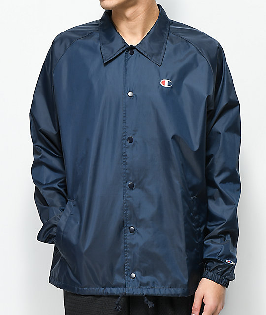 Champion West Navy Coaches Jacket