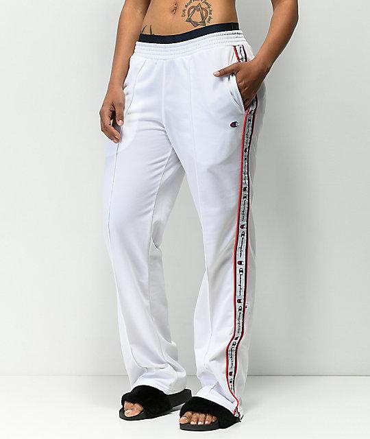 b3b2eaf4f Champion White Track Pants