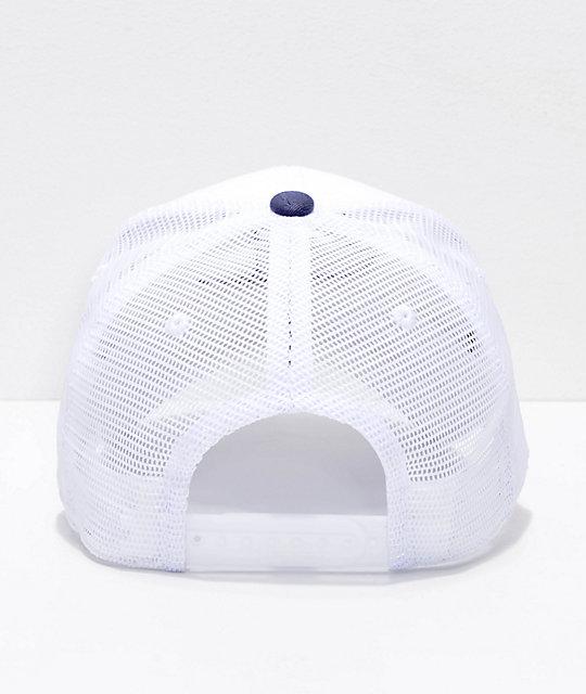... Champion gorra blanca de malla y sarga 319660a5930