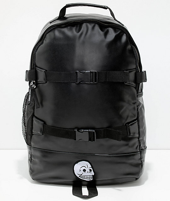 Cheap Monday Clasp Pack Black Backpack