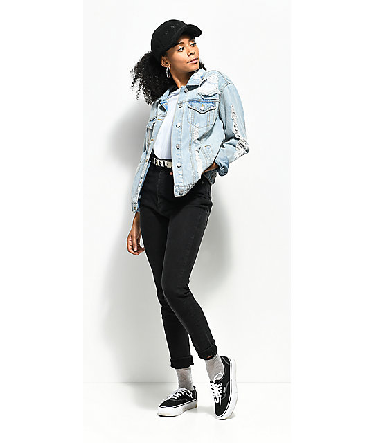 Cheap Monday High Spray Black Skinny Jeans