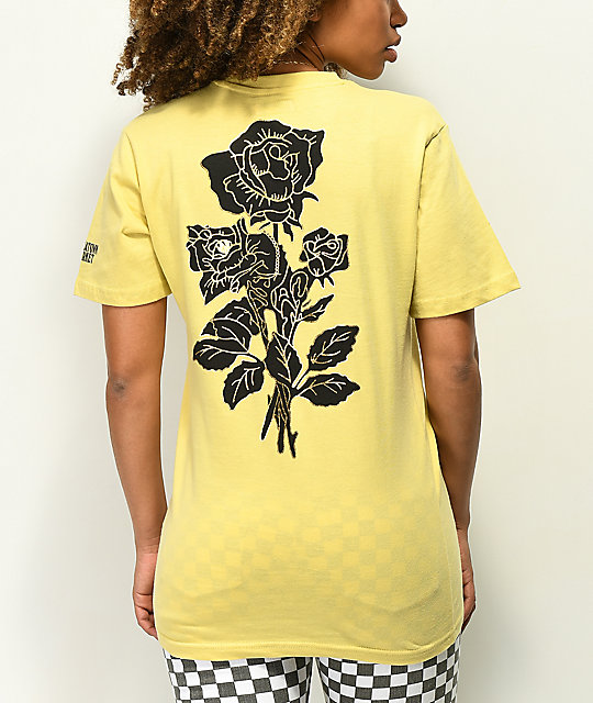 Chinatown Market Thank You Rose Yellow T-Shirt