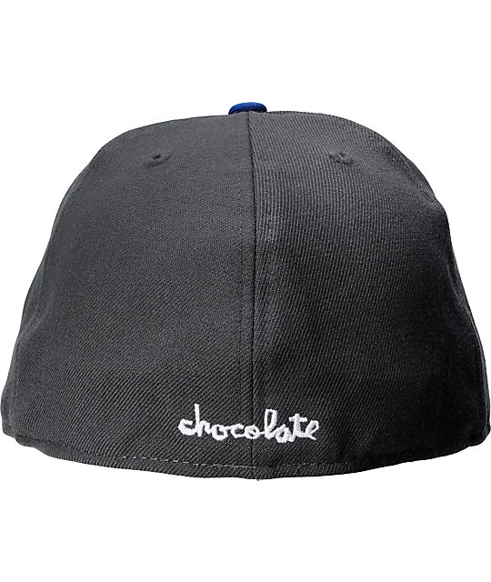 Chocolate Chunk C Charcoal New Era Fitted Hat