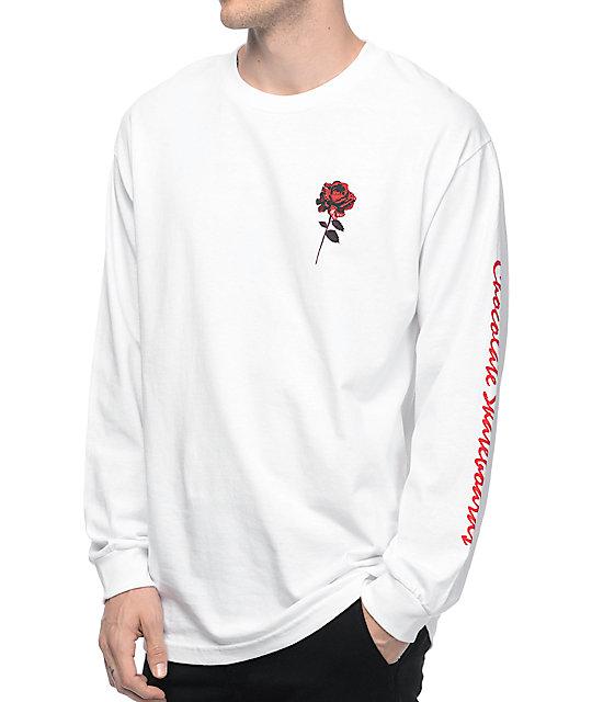 5a1cb6a66 Chocolate Dreamers White Long Sleeve T-Shirt | Zumiez