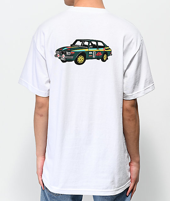 Chocolate Rally camiseta blanca