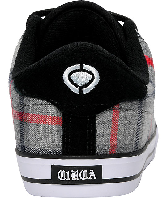 Circa AL 50 Grey Plaid Shoes